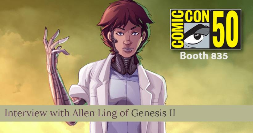 Temple of Geek Interviews Allen Ling of Genesis II about San Diego Comic-Con