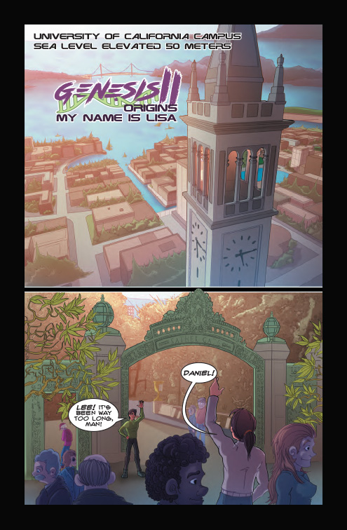 Genesis II Comic Book, Chapter 5, Page 5
