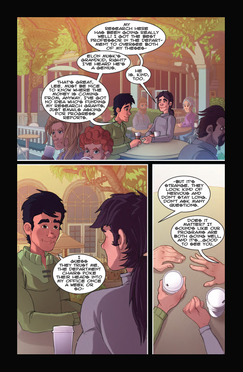 Genesis II Comic Book, Chapter 5, Page 6