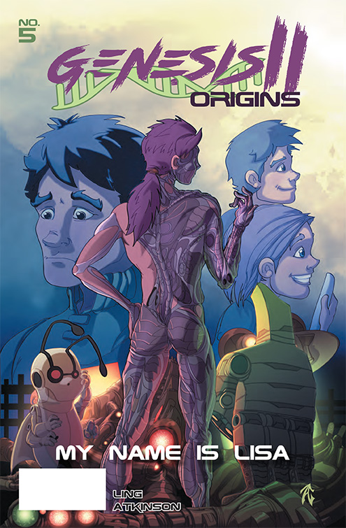 Genesis II Comic Book, Chapter 5 Cover
